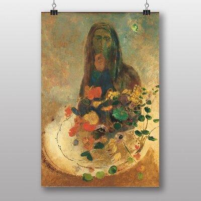 "Big Box Art ""Mystery"" by Odilon Redon Art Print"