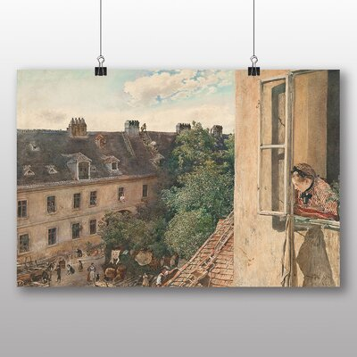 Big Box Art 'View of the Alservorstadt' by Rudolf Von Alt Art Print