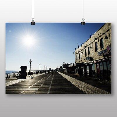 Big Box Art New Jersey Shore Boardwalk USA Photographic Print