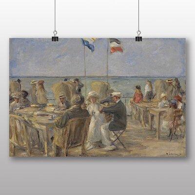 Big Box Art 'Strandterrasse in Noordwijk' by Max Liebermann Art Print