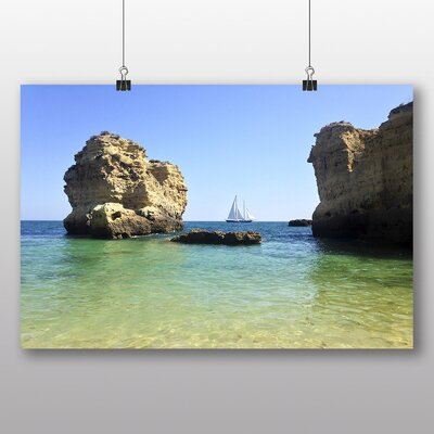 Big Box Art 'Sailboat Between the Rocks' Photographic Print