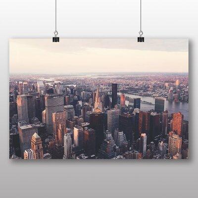 Big Box Art New York City Skyline USA No.10 Photographic Print on Canvas