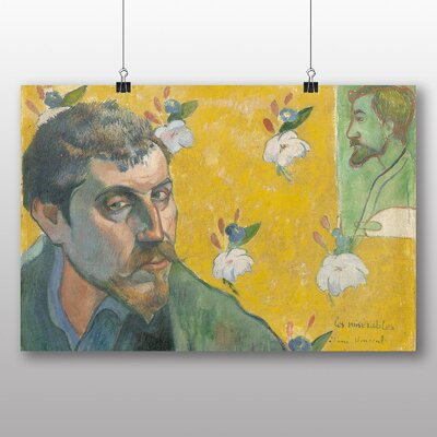 Big Box Art 'Self Portrait No.3' by Paul Gauguin Art Print