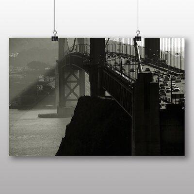 Big Box Art The Golden Gate Bridge San Francisco California No.5 Photographic Print on Canvas
