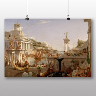 Big Box Art 'Course of Empire' by Thomas Cole Art Print