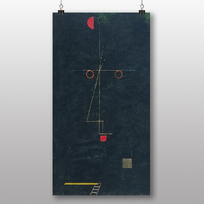 Big Box Art 'Portrait of an Artist' by Paul Klee Art Print