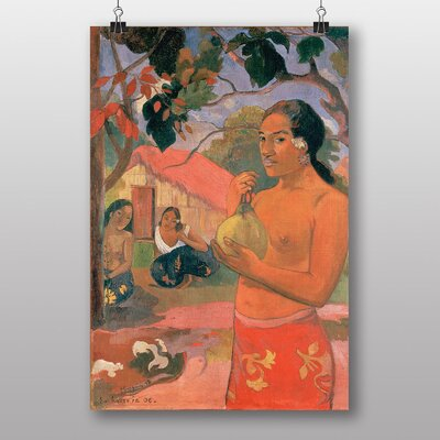 "Big Box Art ""Where are You Going No.2"" by Paul Gauguin Art Print"
