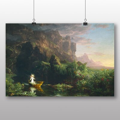 Big Box Art 'The Voyage of Life Childhood' by Thomas Cole Art Print