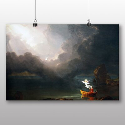 Big Box Art 'Voyage of Life Old Age' by Thomas Cole Art Print
