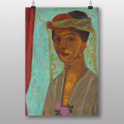 "Big Box Art ""Self Portrait No.4"" by Paula Modersohn Becker Art Print"