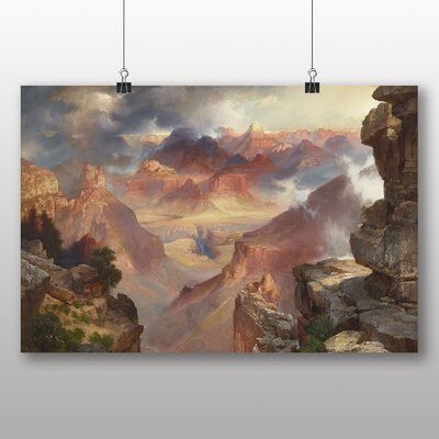 Big Box Art 'Rocky Landscape' by Thomas Moran Art Print