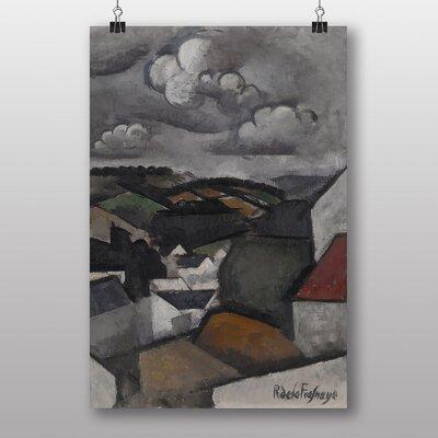 Big Box Art Village Landscape by Roger de la Fresnaye Art Print