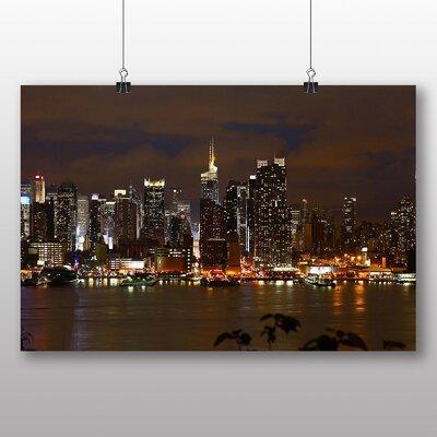 Big Box Art Manhattan new York Skyline Photographic Print