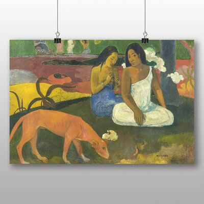 Big Box Art 'Arearea' by Paul Gauguin Art Print