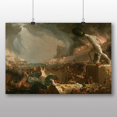 Big Box Art 'Course of Empire No.2' by Thomas Cole Art Print