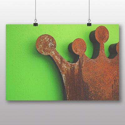 Big Box Art 'Rusted Crown' Graphic Art