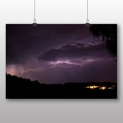 Big Box Art Thunder Lightening Storm No.6 Photographic Print