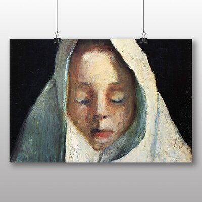 Big Box Art 'Young Girl' by Paula Modersohn Becker Art Print