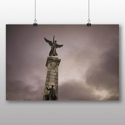 Big Box Art Renommee Monument Montreal Canada Photographic Print