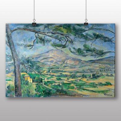 Big Box Art 'Montagne Sainte Victoire No.5' by Paul Cezanne Art Print