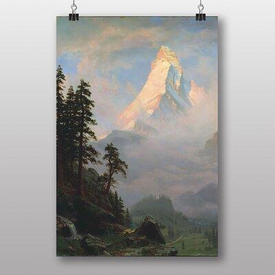 Big Box Art Rocky Mountain by Thomas Moran Art Print