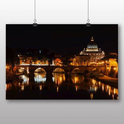 Big Box Art Saint Peters Basilica Sant Angelo Bridge Italy Rome No.1 Photographic Print