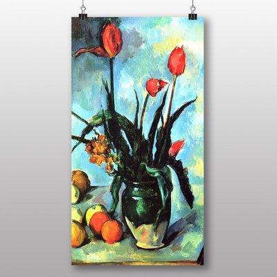 Big Box Art 'Still Life Flowers' by Paul Cezanne Art Print