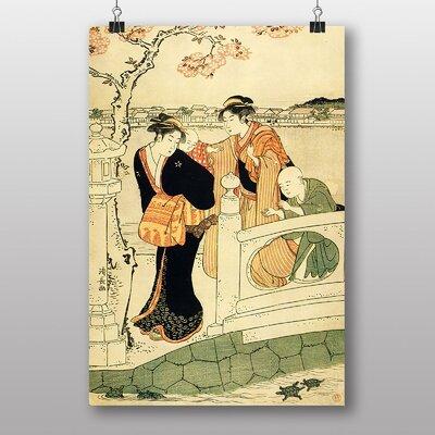 Big Box Art Vintage Japanese Oriental No.3 by Torii Kiyonaga Art Print