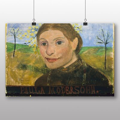 Big Box Art 'Self Portrait' by Paula Modersohn Becker Art Print