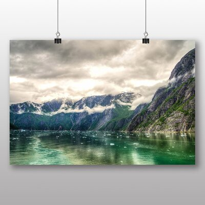 Big Box Art Tracy Arm Fjord Juneau Alaska USA No.2 Graphic Art on Canvas