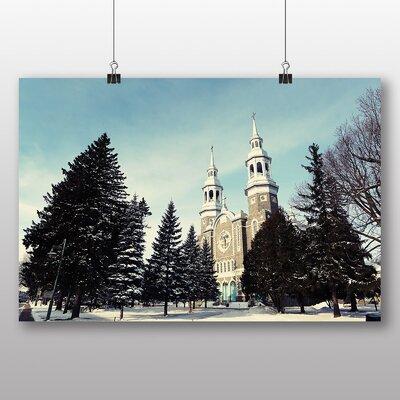 Big Box Art 'Quebec Church' Photographic Print