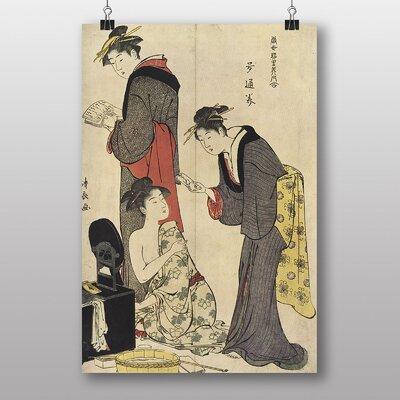 Big Box Art Vintage Japanese Oriental No.2 by Torii Kiyonaga Art Print