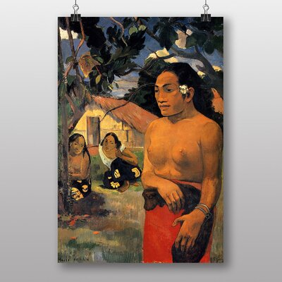 Big Box Art Where are You Going by Paul Gauguin Art Print