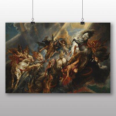 Big Box Art 'The Fall of Phaeton' by Peter Paul Rubens Art Print