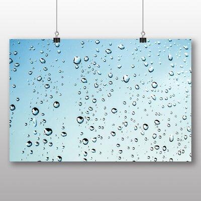 Big Box Art Rain Drops Water No.4 Photographic Print