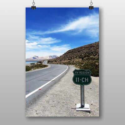 Big Box Art Road in Chile Photographic Print