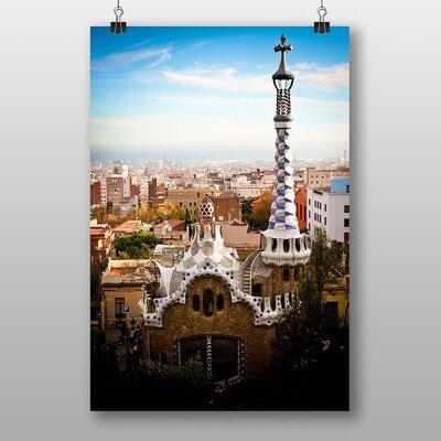 Big Box Art Parc Guell Barcelona Spain Photographic Print