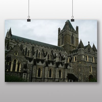 Big Box Art Trinity College Dublin Ireland Photographic Print Wrapped on Canvas