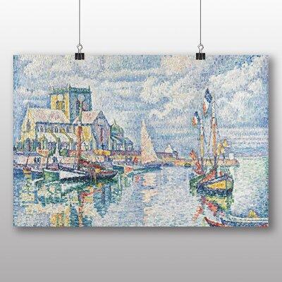 Big Box Art 'Boats' by Paul Signac Art Print