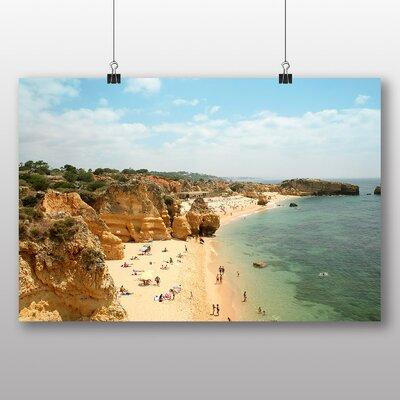 Big Box Art 'Sandy Beach Scene No.4' Photographic Print