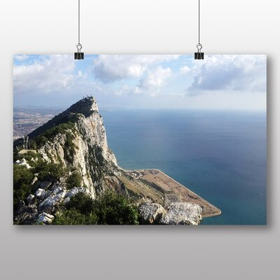 Big Box Art Rock of Gibraltar No.2 Photographic Print Wrapped on Canvas