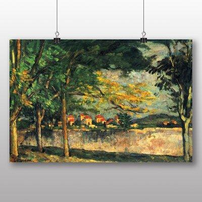Big Box Art 'Landscape No.6' by Paul Cezanne Art Print