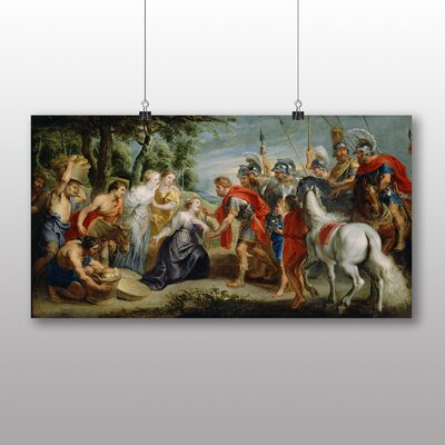 Big Box Art 'Abigai and David' by Peter Paul Rubens Art Print