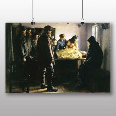 Big Box Art 'The Drowned Fishermen' by Michael Ancher Art Print