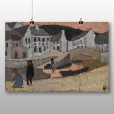 Big Box Art 'The Canal Brittany Landscape' by Roger de la Fresnaye Art Print