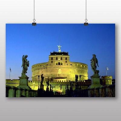 Big Box Art Rome Sant Angelo Italy Photographic Print on Canvas