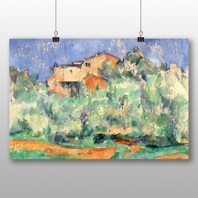 Big Box Art 'The Farm of Bellevue' by Paul Cezanne Art Print