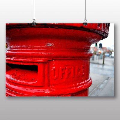 Big Box Art Postbox England No.2 Photographic Print