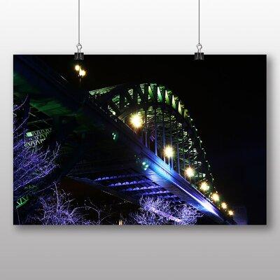 Big Box Art Tyne Bridge Newcastle No.2 Photographic Print on Canvas