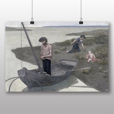 Big Box Art 'The Poor Fisherman' by Pierre Puvis de Chavannes Art Print